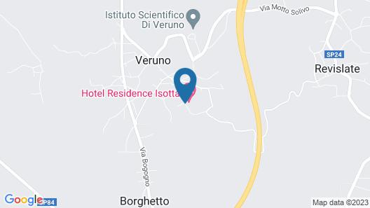 Albergo Residence Isotta Map