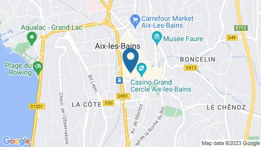 Les Loges du Park – résidence hôtelière Map