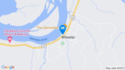 Wheeler on the Bay Lodge & Marina Map
