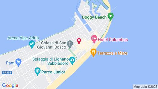 Hotel Stiefel Map
