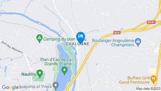 Les Hauts de Chalonne Map