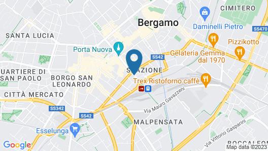 Mercure Bergamo Centro Palazzo Dolci Map