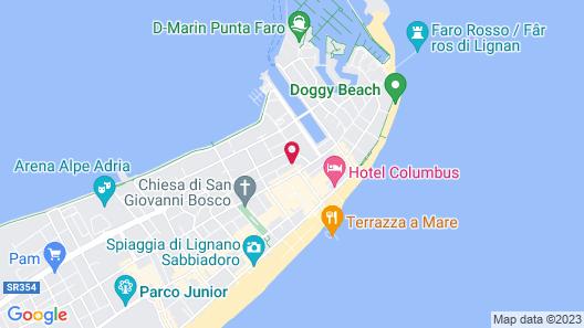 Hotel Romantik Map