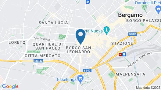 Petronilla - Hotel in Bergamo Map