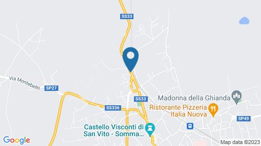 Hilton Garden Inn Milan Malpensa Map