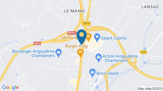 ibis Angouleme Nord Map