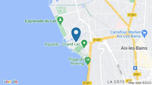 ResidHotel Azuréa Map