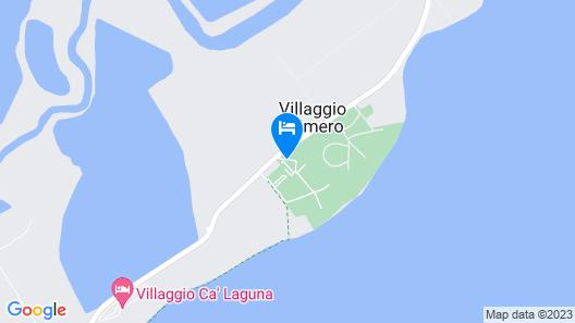 Villaggio Residence Punta Spin Map