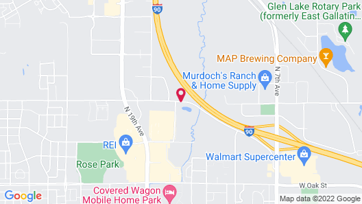 SpringHill Suites by Marriott Bozeman Map