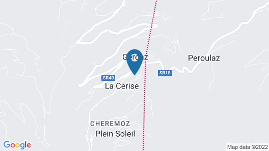 Casa Chamonin Apartments  Map