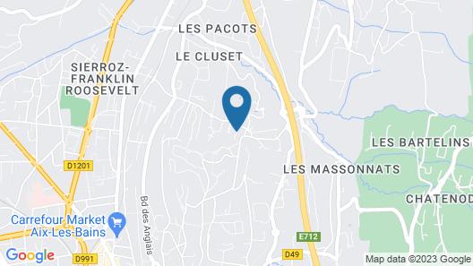 Demeure d'Hôtes L'Hermitage Map