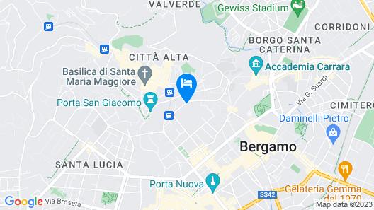 Ramé Suites Map