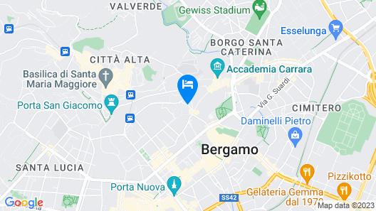 La Rosa Scarlatta Map