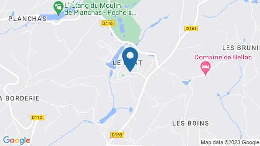 Village Le Chat Map
