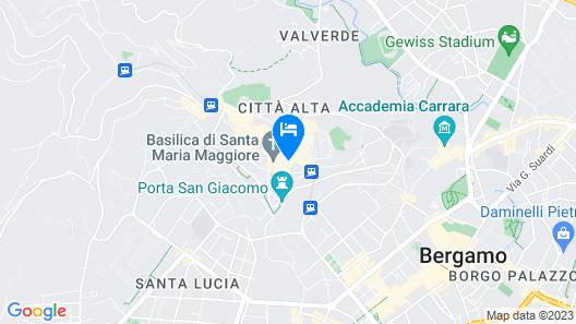 Casa Mario Lupo Map