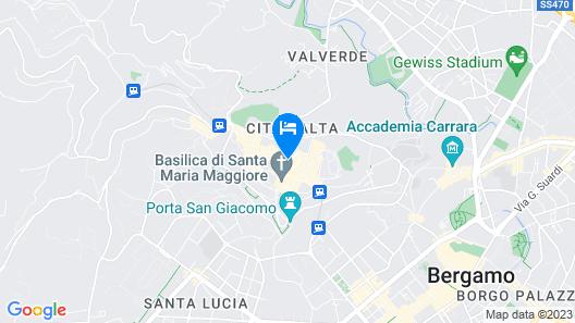 Il Sole Bergamo Map