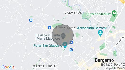 La Corsarola Suite holiday home Map
