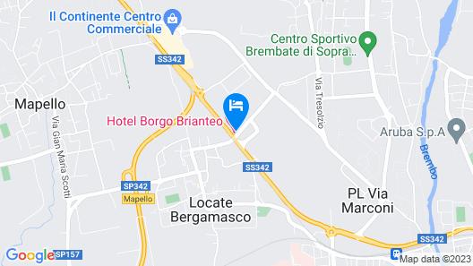 Hotel Borgo Brianteo Map