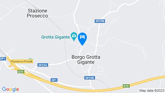 Girandole Garden in Borgo Grotta Map