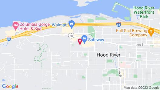 Hood River Hostel Map