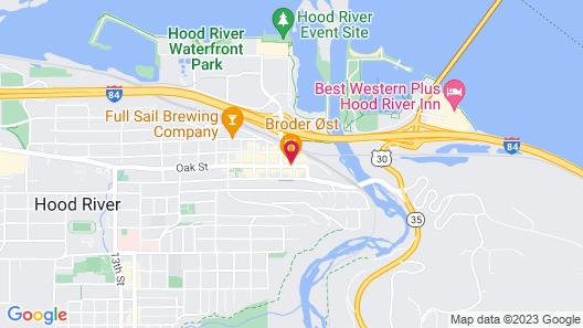 Hood River Hotel Map
