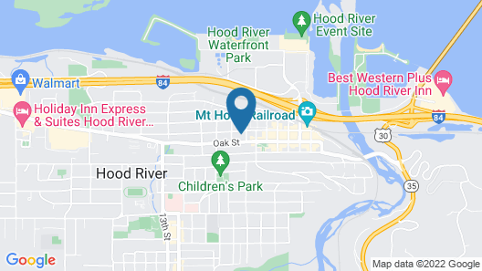 Hood River Suites - Extended Stay Map