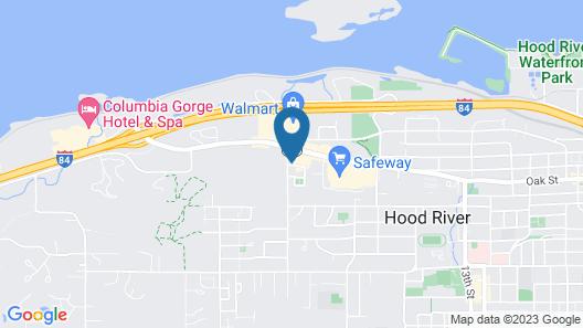 Holiday Inn Express & Suites Hood River, an IHG Hotel Map