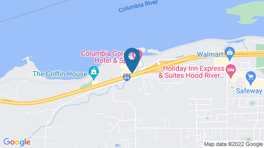 Columbia Gorge Hotel and Spa Map