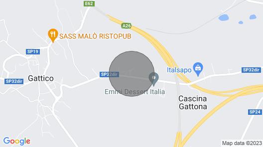 Casa Circondata da Boschi, Vicina al Lago Maggiore e al Lago D'orta Map