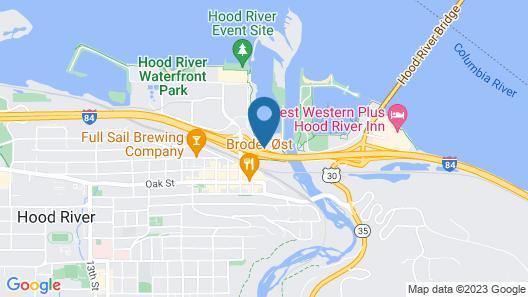 Hampton Inn & Suites Hood River Map