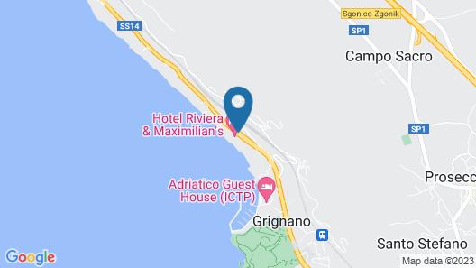 Hotel Riviera & Maximilians Map