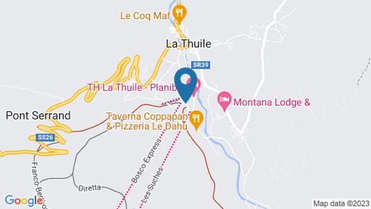 Planibel Residence Map