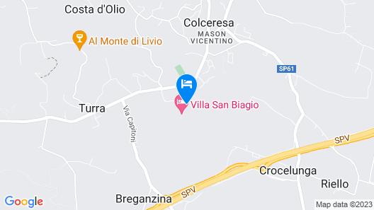 Villa San Biagio Map