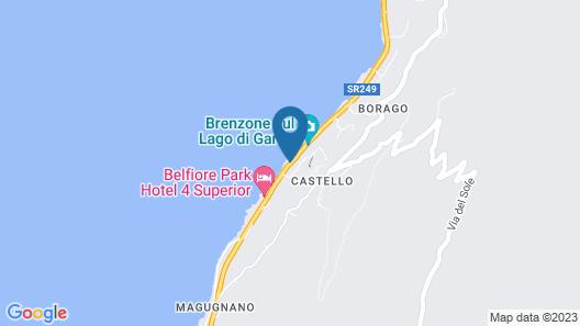 Belfiore Park Hotel Map