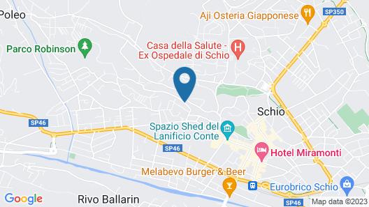 B&B Cappuccini Map