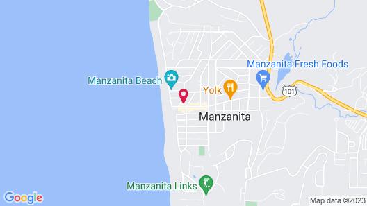 The Inn at Manzanita Map