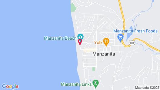 Sunset Surf Motel Map