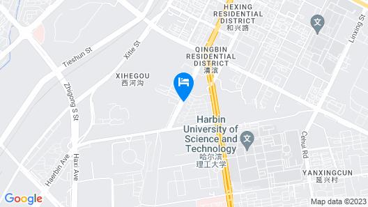Harbin Hash International Youth Hostel Map