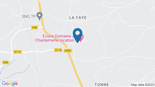 Ecurie du Domaine de Chantemerle Map