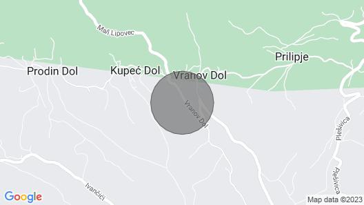 1 Bedroom Accommodation in Jastrebarsko Map