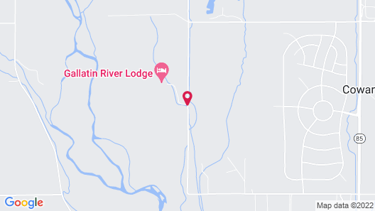Gallatin River Lodge Map