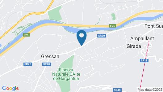 Au Petit Chevrot Map
