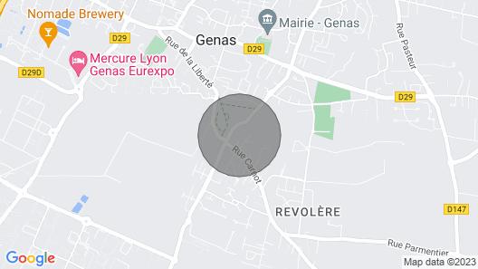 Appartement Terrasse Map