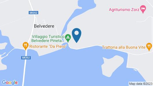 Belvedere Pineta Camping Village Map