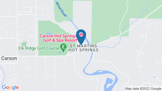 Carson Hot Springs Resort Map
