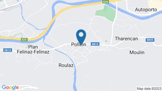 Hotel Diana Jardin et Spa Map