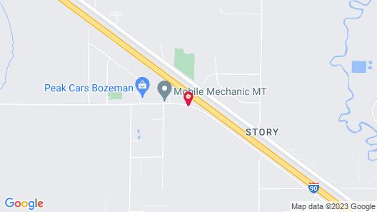 My Place Hotel-Bozeman, MT Map