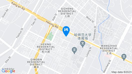 Wanda Realm Harbin Map