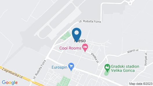 Hotel Pleso Map