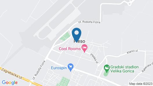Hotel Garny Pleso Map